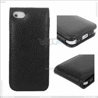 Up and Down Genuine Leather Case for Iphone 5