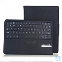 Bluetooth Keyboard Leather Case for iPad Air 2