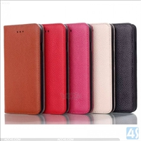 Genuine Leather Stand Case for iPhone 6 Plus