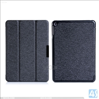 Three Folding Leather Case for Nokia N1 Table