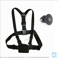 Chest Harness + Triangle Base for Gopro Hero 2/3/4 GP58