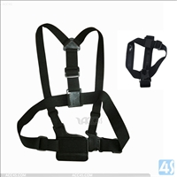 Chest Harness + Head Strap Suit for Gopro Hero 2/3/4 GP59