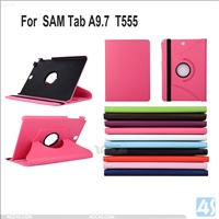 Rotating Leather Case for Samsung Galaxy Tab A T555 TABA