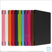 Three Folding Leather Case for Acer A3-A30