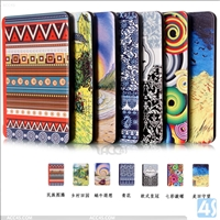 Customized pattern desgin PU leather case for kindle paperwhite 1/2/3