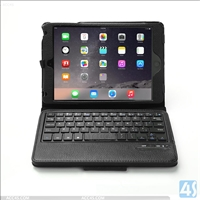 PU Leather Case Bluetooth Keyboard for Apple iPad Mini 4
