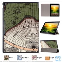 Map PU Leather Case for GOOGLE Pixel C