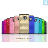 Bling PC Silicon TPU 3in1 Case for HTC One M10