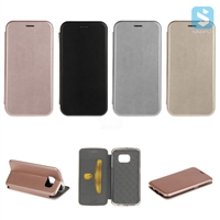 PU Leather Stand Case for SAMSUNG Galaxy S6 Edge