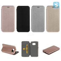 PU Leather Stand Case for SAMSUNG Galaxy S6