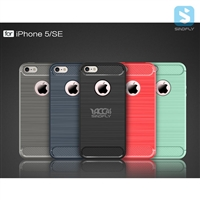 TPU Brushed Case for APPLE iPhone SE/ 5/ 5S