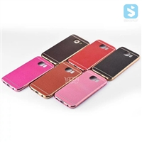 Electroplating Litchi Pattern Case for SAMSUNG Galaxy S6 / SM-G925F