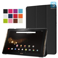 Trifold PU Leather Case for ACER Acer Iconia Tab 10 A3 A40