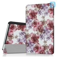 Tri Fold Printed PU Leather Case for HUAWEI MediaPad M3 8.4""