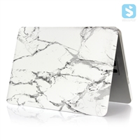 Printed Marble Case Hard Snap On Case for MacBook Pro 15