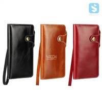 Cow Leather Wallet Case for iPhone 7