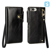 Real Leather Wallet Case for APPLE iPhone 7 Plus