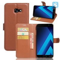 PU Leather Wallet Case for SAMSUNG Galaxy J7 (2017) / J7 POP