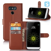 PU Leather Wallet Case for LG G6