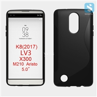 S Line TPU Case for LG K8 (2017) LV3 X300
