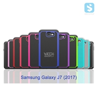 3in1 PC TPU Silicon Case for SAMSUNG Galaxy J7 (2017) / J7 POP