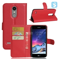 PU Leather Wallet Case for LG K8 2017