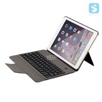 PU Leather Back Stand Bluetooth Keyboard for iPad Air, Air 2, Pro 9.7