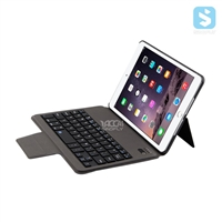 PU Leather Back Stand Bluetooth Keyboard for iPad Mini 2 / 3