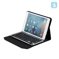 PU Leather Detachable Bluetooth Keyboard for ipad mini4