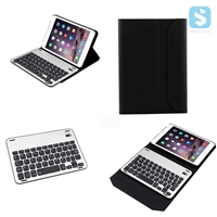 Detachable PU Leather Bluetooth Keyboard for iPad Mini 2 / 3