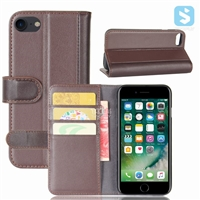 Genuine Leather Wallet Case for iPhone 7