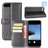 Genuine Leather Wallet Case for iPhone 7 Plus