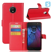 PU Leather Wallet Case for MOTOROLA G5S Plus
