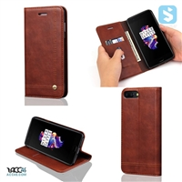 Magnet PU Leather Wallet Case for OnePlus 5