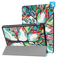 Printed Tri Fold PU Leather Case for ASUS ZenPad 10 Z301MFL