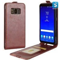 PU Leather Flip Case for SAMSUNG Galaxy S8 Active