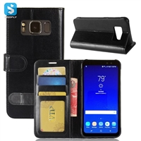 PU Leather Wallet Case for SAMSUNG Galaxy S8 Active