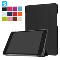 PU Leather Tri Fold Case for ASUS Zenpad Z8S (ZT582KL)