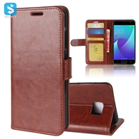 R64 PU Leather Wallet Case for ASUS ZenFone V(V520KL)