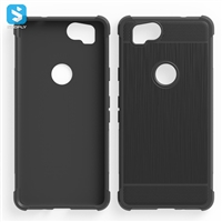 Anti Shock Brushed TPU Case for Google Pixel 2