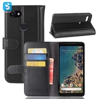 Genuine Leather Wallet Case for GOOGLE  piexll XL 2