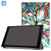 Tri Fold Printed Cover for AMAZON Fire HD 10 (2017)