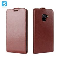 R64 Pattern PU Leather Flip Case for Samsung Galaxy A7 2018 (A730F)