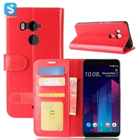 R64 PU Leather Wallet Case for HTC U11 PLUS