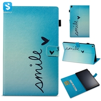 Printed PU Leather Wallet Case for Amazon Fire HD 10 2017