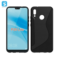S Line TPU Case for Huawei P20 Lite