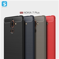 Brushed Matte TPU Case for Nokia 7 Plus