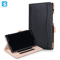 Tan Stand PU Leather Case for Huawei Mediapad M5 8.4