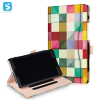 Printed PU Leather Stand Case for Huawei MediaPad M5 8.4