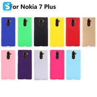 Soft Touch PC Case for Nokia 7 Plus